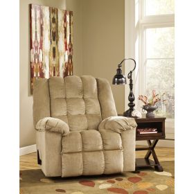 Signature Design By Ashley Ludden Rocker Recliner in Sand Twill [FSD-6199REC-SND-GG]