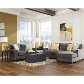 Signature Design By Ashley Hodan Living Room Set in Marble Microfiber [FSD-7979SET-MBL-GG]