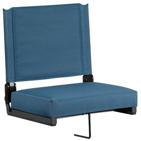 Game Day Seats by Flash with Ultra-Padded Seat in Teal [XU-STA-GN-GG]