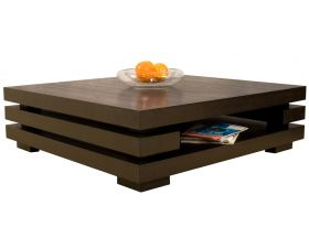 Joliet Modern Coffee Table in Wenge