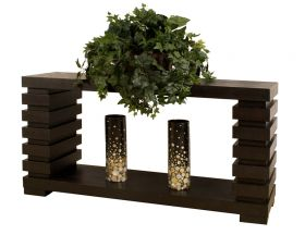Joliet Modern Console Table in Wenge