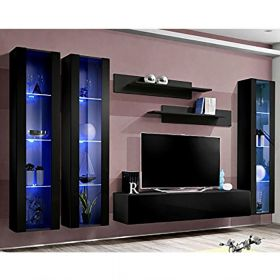 Heber Wall Mounted Floating Modern Entertainment Center (Size CD2)