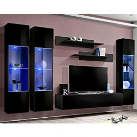 Heber Wall Mounted Floating Modern Entertainment Center (Size CD3)