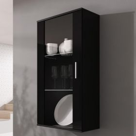 Helena Wall Mounted Floating Glass Cabinet