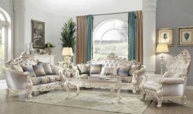 Hilo Traditional Living Room Set in Antique White