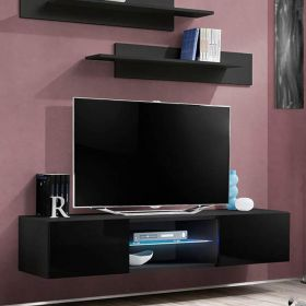 "Hole Modern Wall Mounted Floating 63"" TV Stand"