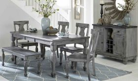 Fulbright 5520 Dining Room Set in Grey