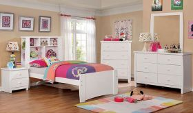 Howard Youth Transitional Bedroom Set in White