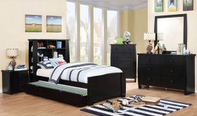 Hume Youth Transitional Bedroom Set in Black