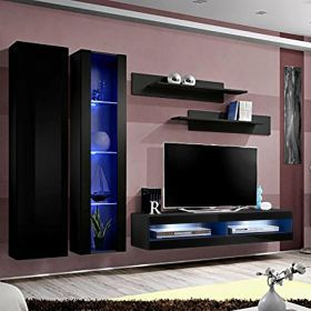 Huntington Wall Mounted Floating Modern Entertainment Center (Size A4)