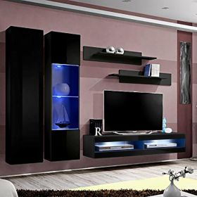 Huntington Wall Mounted Floating Modern Entertainment Center (Size A5)