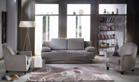 Istikbal Fantasy Convertible Living Room Set in Valencia Grey