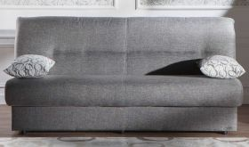 Istikbal Regata Convertible Sleeper Sofa in Diego Grey