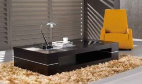 J&M 682 Modern Coffee Table in Wenge