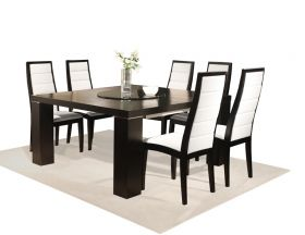 Savannah Modern Dining Room Set in Wenge