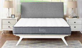 Kate 8 Innerspring Mattress in White