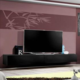 "Ketchum Modern Wall Mounted Floating 126"" TV Stand"
