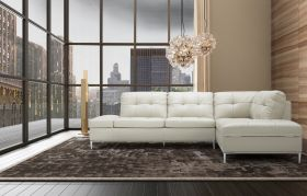 Colon Premium Sectional Sofa with Storage in Light Grey