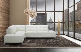 Colon Premium Sectional Sofa with Storage in White