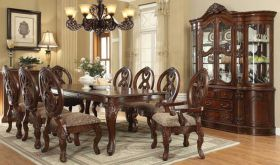 Linds Traditional Dining Room Set in Cherry