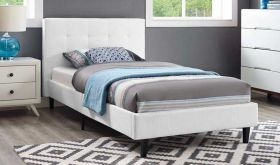 Linnea Modern Bed in White