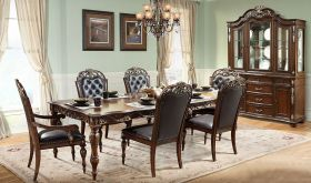Mancos Traditional Dining Room Set in Brown