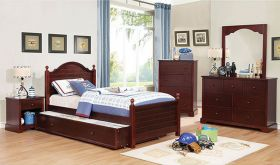 Manlius Youth Transitional Bedroom Set in Cherry