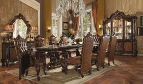 Margam Traditional Dining Room Set in Cherry Oak