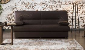 Mastic Convertible Sleeper Sofa in Silverado Chocolate