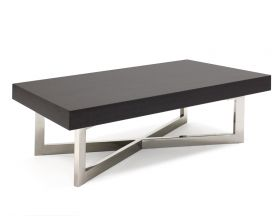 Salle Modern Coffee Table in Gray Oak