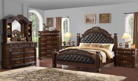 Millstone Traditional Bedroom Set in Brown