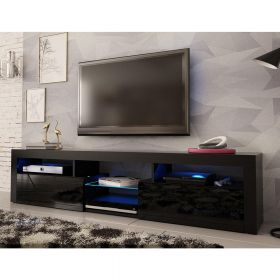 "Minnesota Modern Wall Mounted Floating 79"" TV Stand"