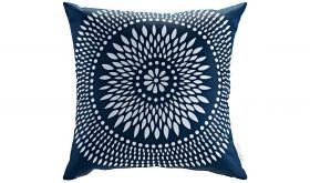 Modern Outdoor Patio Single Pillow in Cartouche