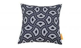 Modern Outdoor Patio Single Pillow in Mask