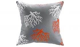 Modern Outdoor Patio Single Pillow in Orchard
