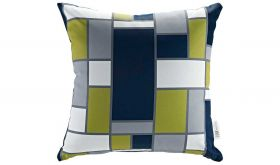Modern Outdoor Patio Single Pillow in Rectangle