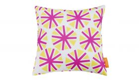 Modern Outdoor Patio Single Pillow in Starburst