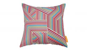 Modern Outdoor Patio Single Pillow in Tapestry