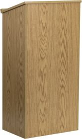 Oak Stand-Up Lectern [MT-M8830-LECT-OAK-GG]