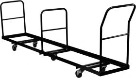 Vertical Storage Folding Chair Dolly - 50 Chair Capacity [NG-DOLLY-309-50-GG]