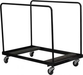 Black Folding Table Dolly for Round Folding Tables [NG-DY60-GG]