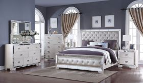 Norwood Contemporary Bedroom Set in Ivory