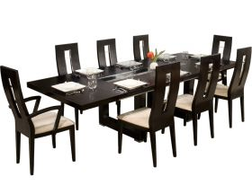 Obispo Modern Dining Room Set in Wenge