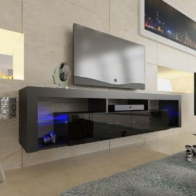 "Ohio Modern Wall Mounted Floating 79"" TV Stand"