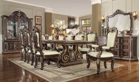 Overtown Traditional Dining Room Set in Brown Cherry