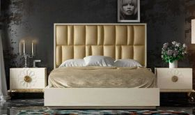 Paterson Modern Bedroom Set in Beige