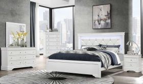 Pompei Bedroom Set in White