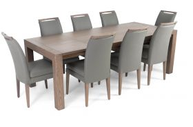 Vada Modern Dining Room Set in Ash Gray