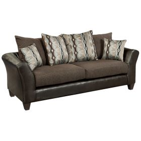 Riverstone Rip Sable Chenille Sofa [RS-4173-01S-GG]