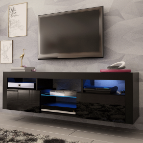 "Sboro Modern Wall Mounted Floating 63"" TV Stand"